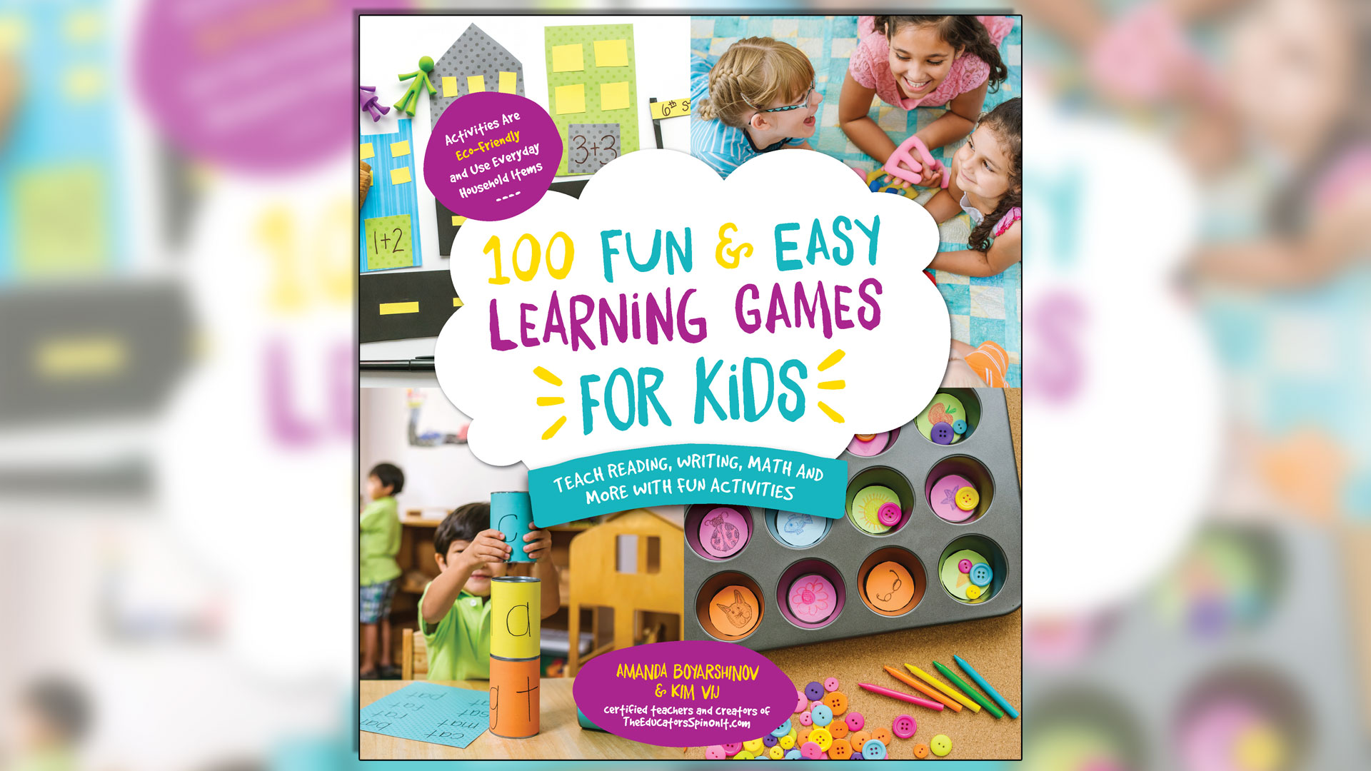 100 Fun & Easy Learnign Games for Kids