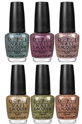 opi burlesque glitter nail polish