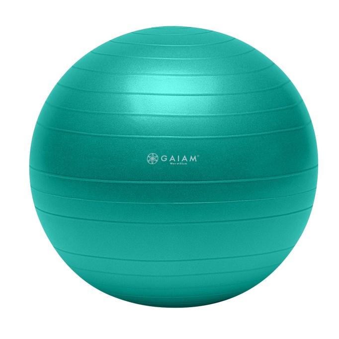 A Yoga Ball