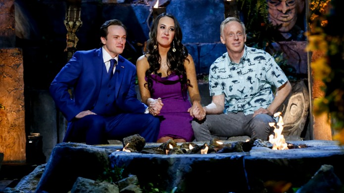 Nick Wilson, Angelina Keeley and Mike