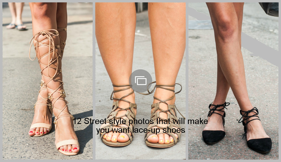 12 Street style photos that will make you want lace-up shoes