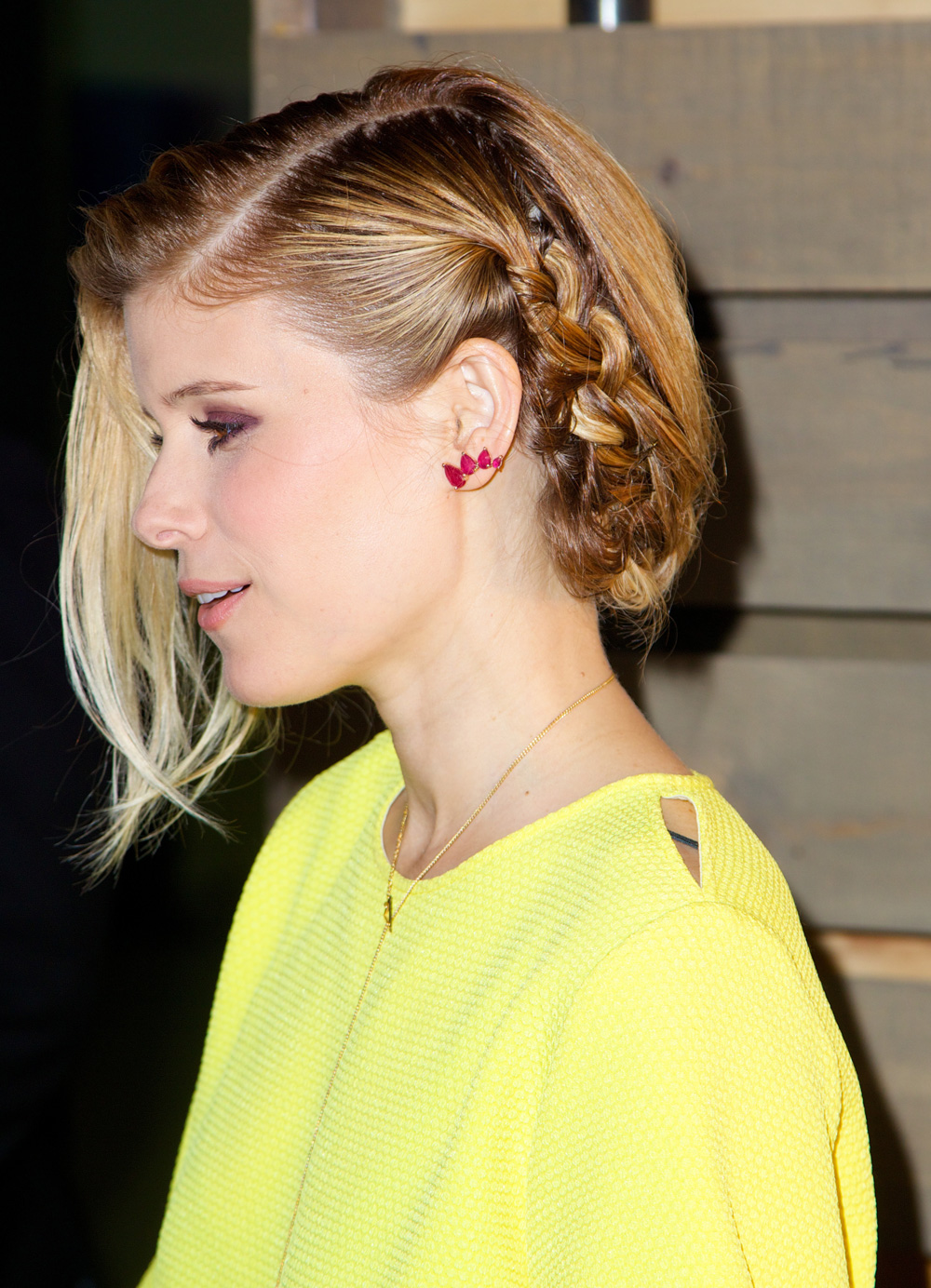 Best braid: Kate Mara
