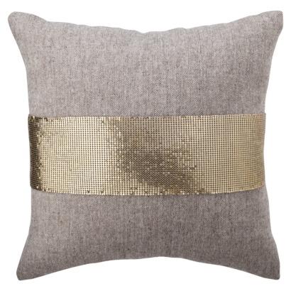 Nate berkus mesh and tweed toss pillow