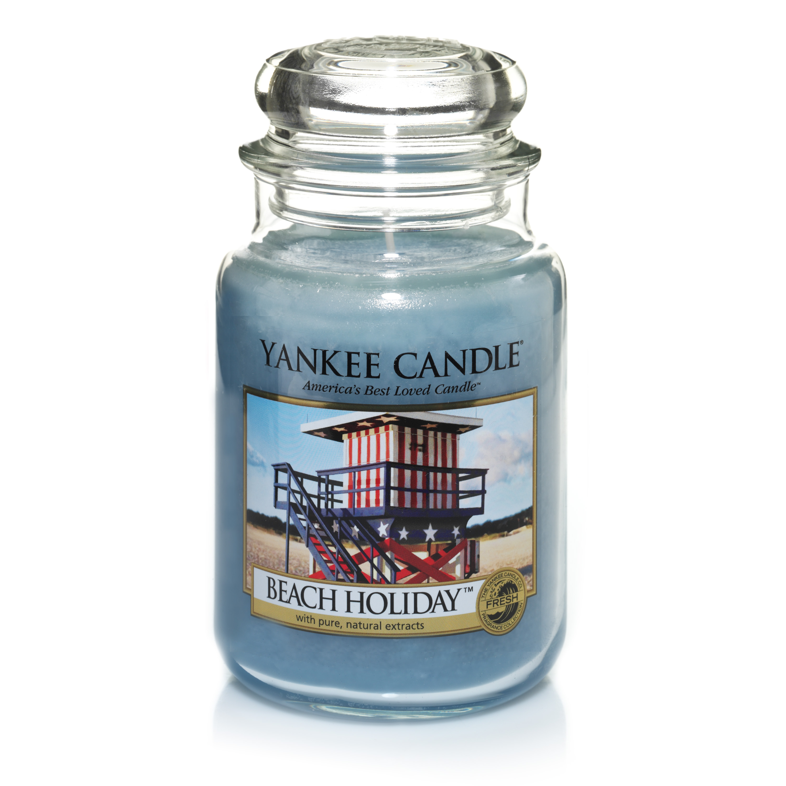 Beach Holiday candle