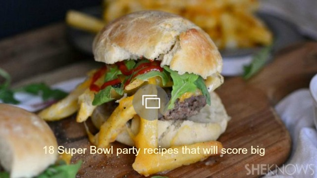 18 Super Bowl party recipes that will score big