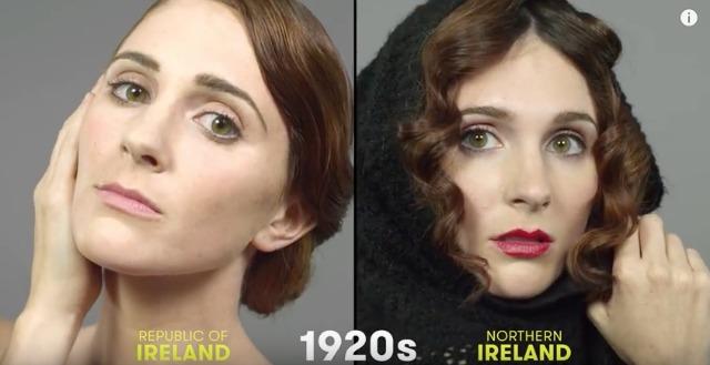 1920s Irish beauty