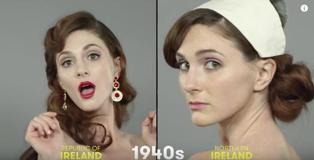 1940s Irish beauty