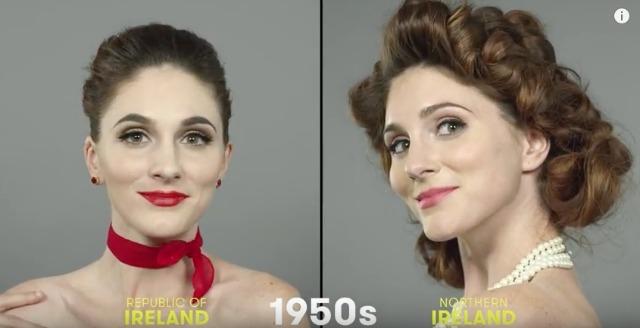 1950s Irish beauty