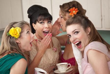 1960s women partying