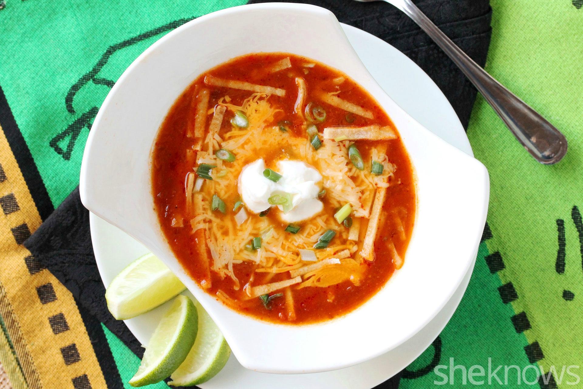 2 enchilada soup
