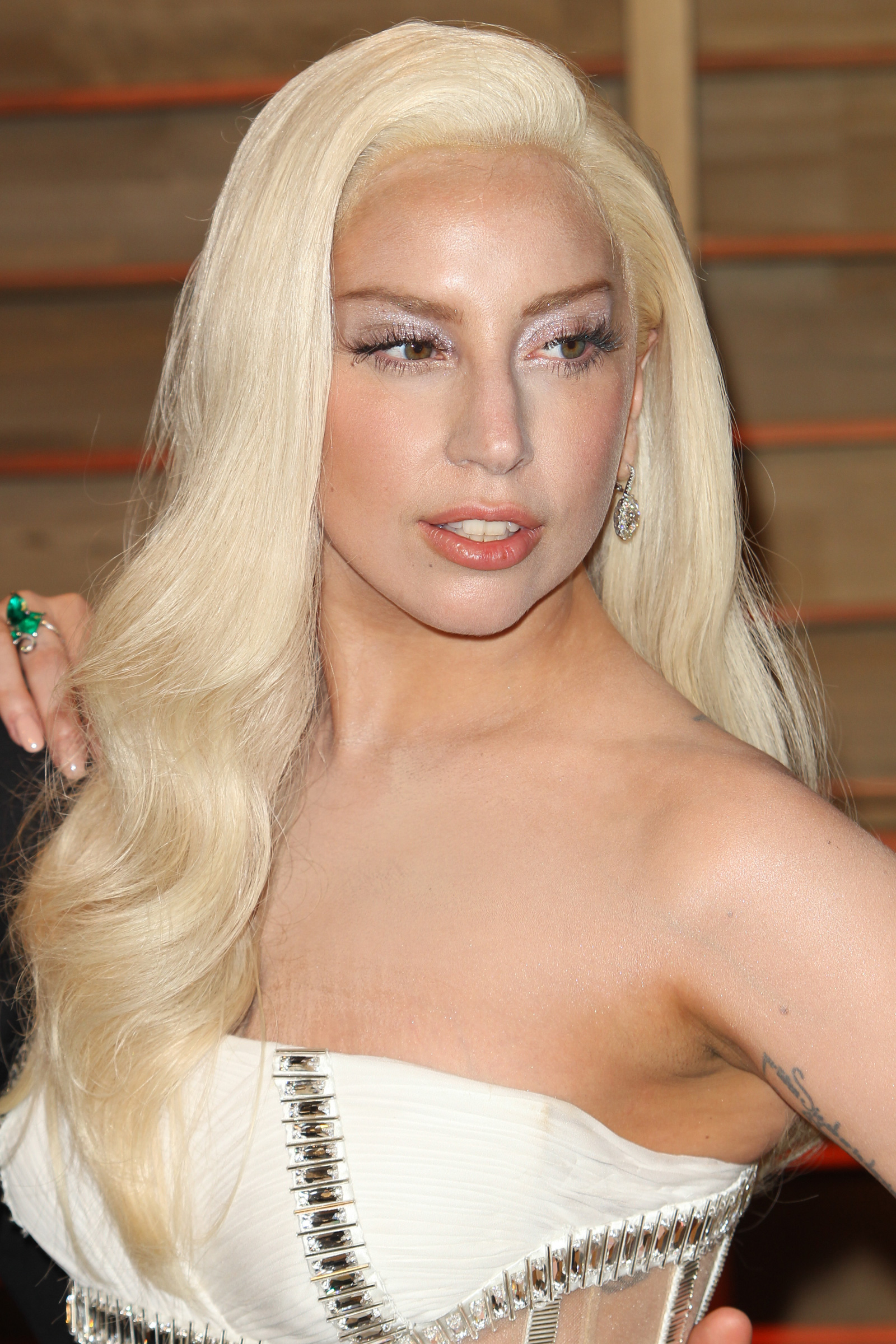 Lady Gaga with Soft waves