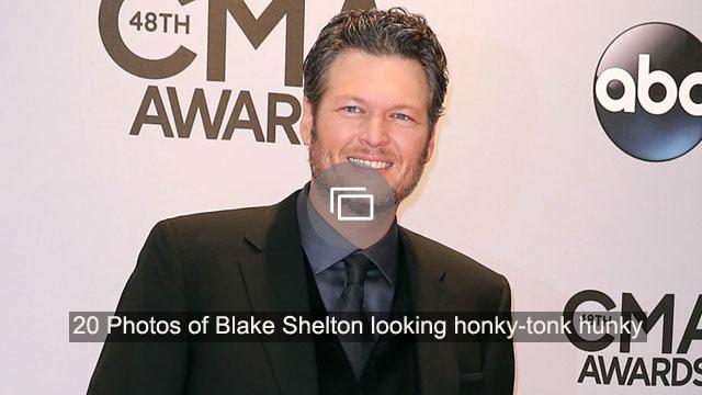 Man Crush Monday: 20 Photos of Blake Shelton looking honky-tonk hunky
