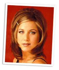 The Rachel hair cut