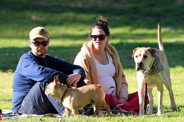 Jack Osbourne and fiance Lisa Stelly