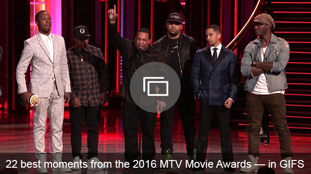 2016 MTV Movie Awards slideshow
