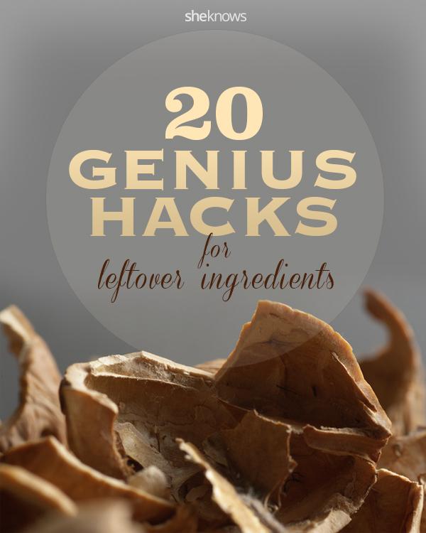 hacks for leftover ingredients