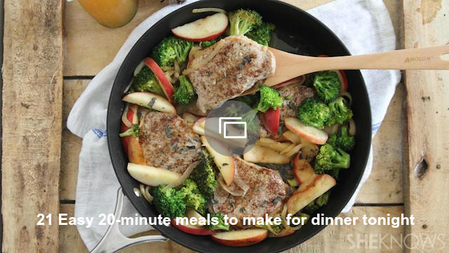 20-minute meal recipes