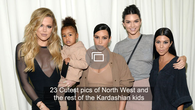 23 Cutest pics of North West and the rest of the Kardashian kids