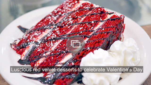 23 Luscious red velvet desserts to celebrate Valentine's Day