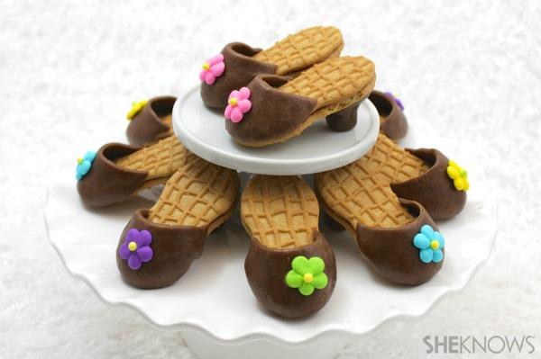 Nutter Butter high heel cookies