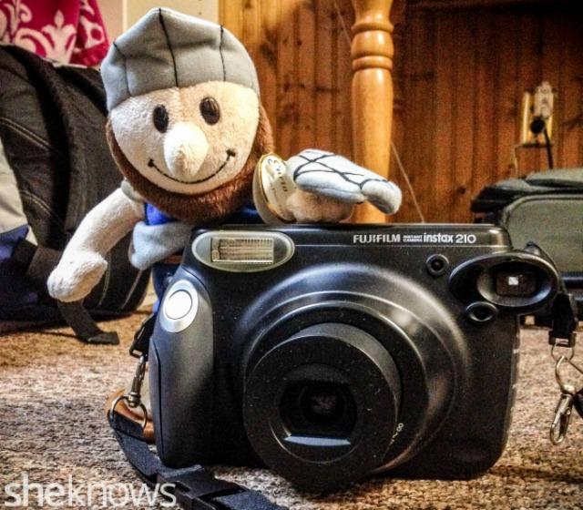 Maccabee takes photos