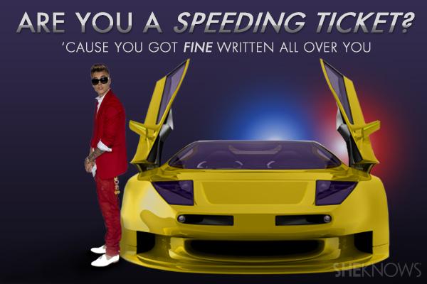 Justin Bieber Valentine's Card
