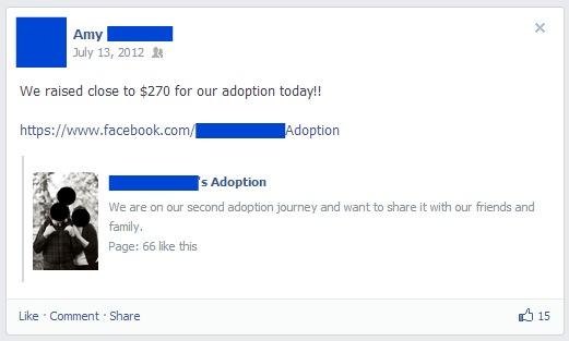 Adoption fund
