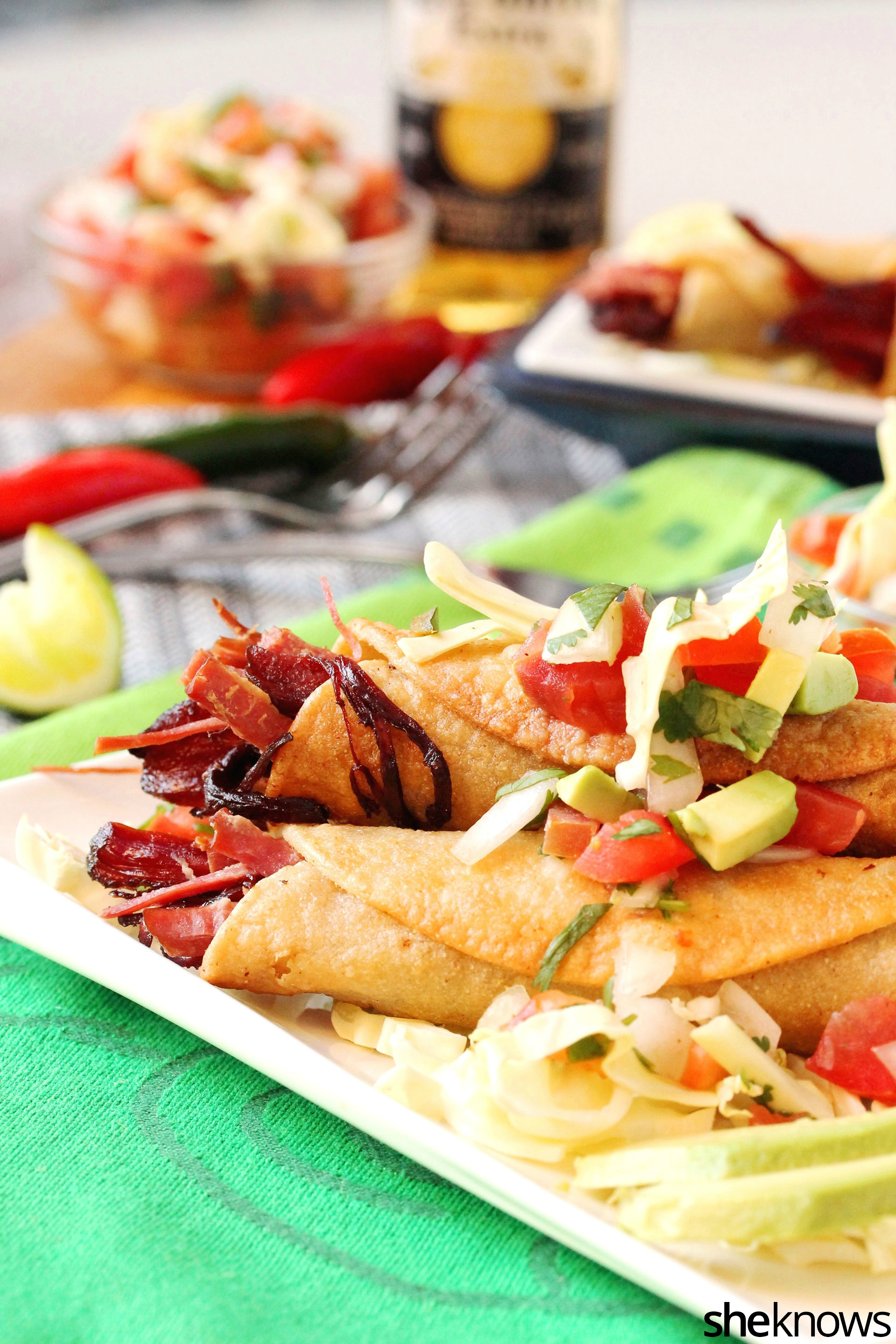 corned-beef-taquitos-on-plate