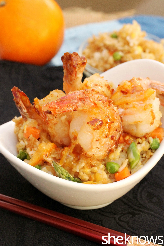 shrimp-with-orange-and-rice