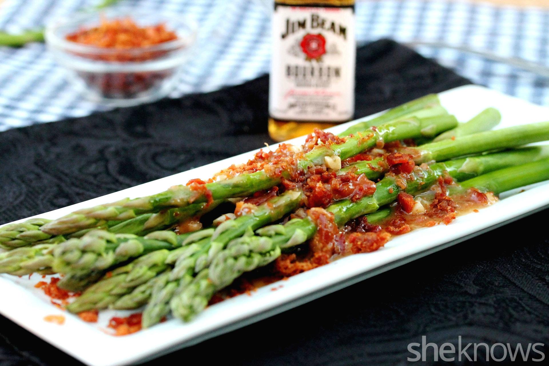 asparagus-bourbon-sauce
