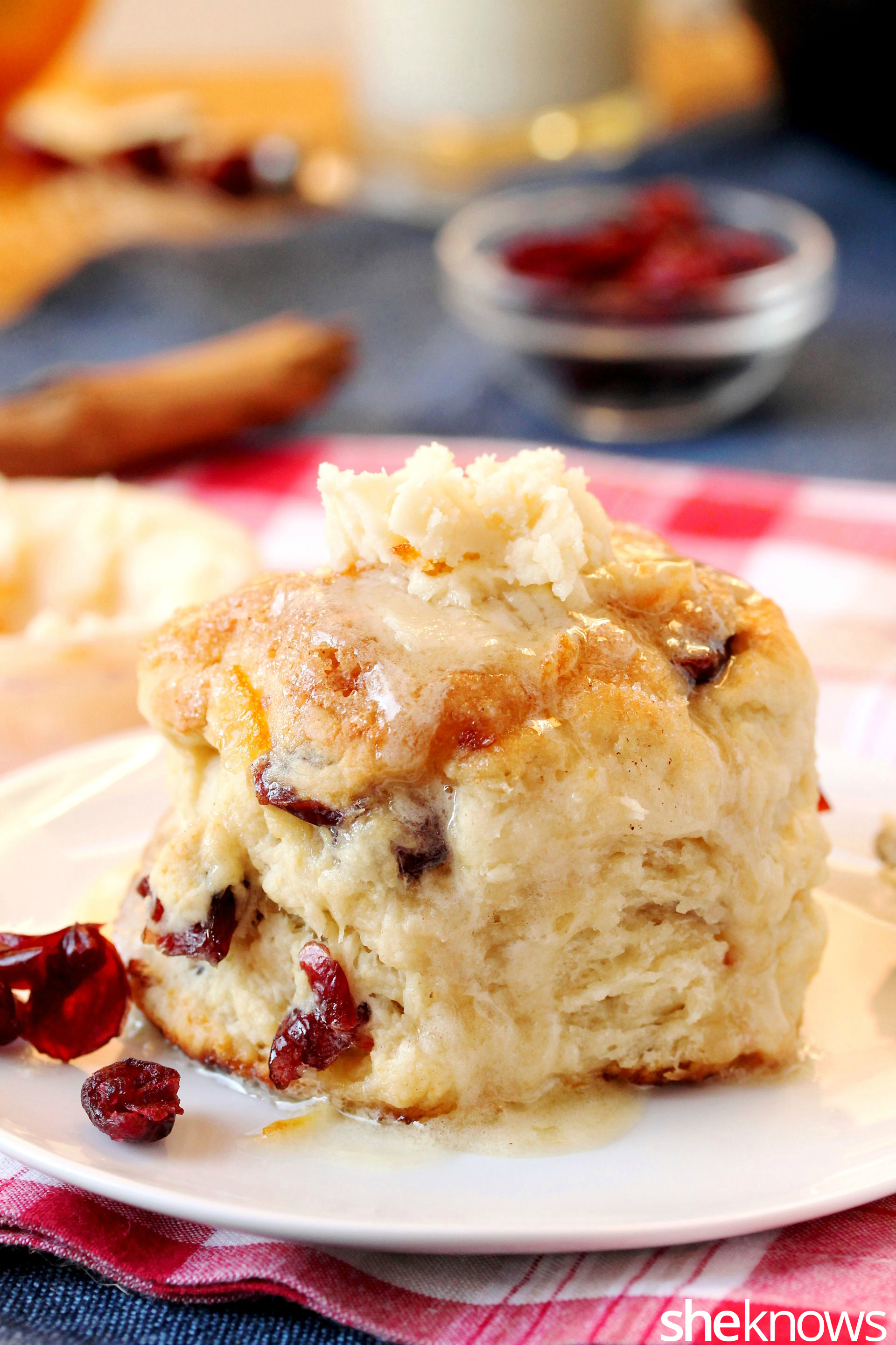 cranberry-biscuit-with-butter