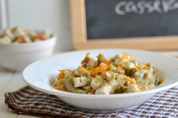 slow cooker thanksgiving green bean casserole