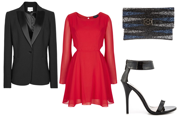 How to wear a blazer for date night