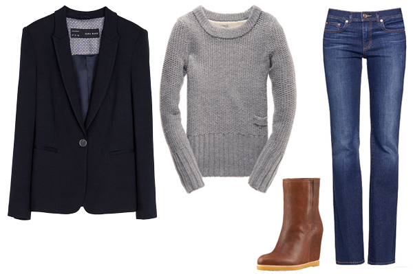 How to wear a blazer for Sunday brunch