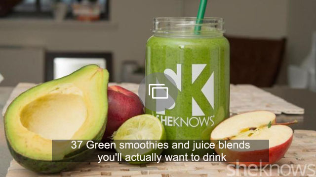 37 Green smoothies and juice blends you'll actually want to drink