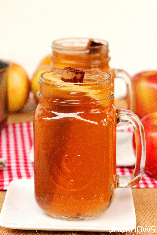 4 spiced apple cider