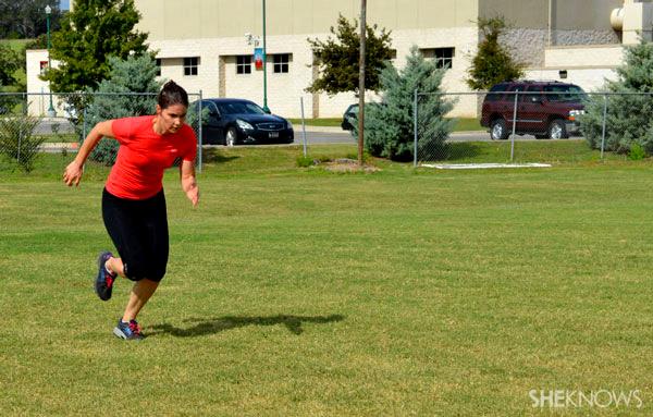 40-yard dash