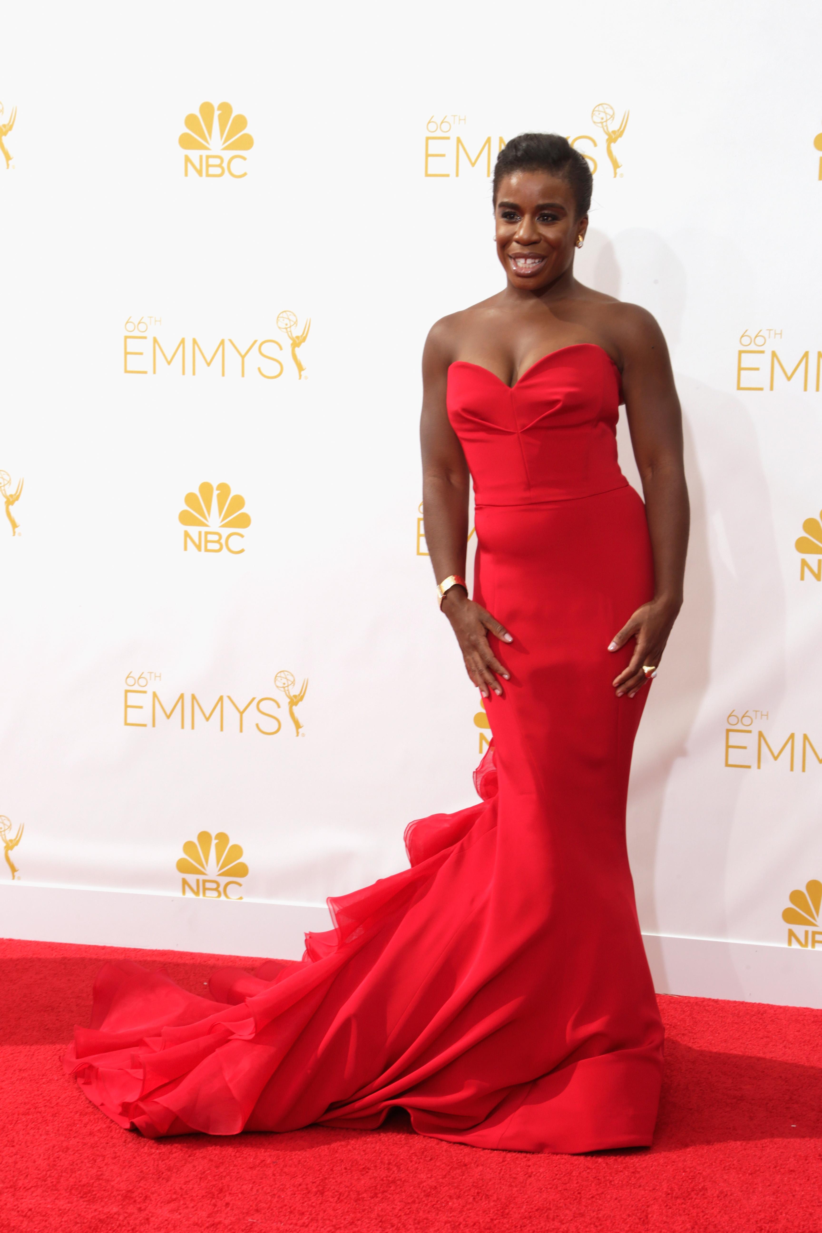 Uzo Aduba at the 2014 Emmys