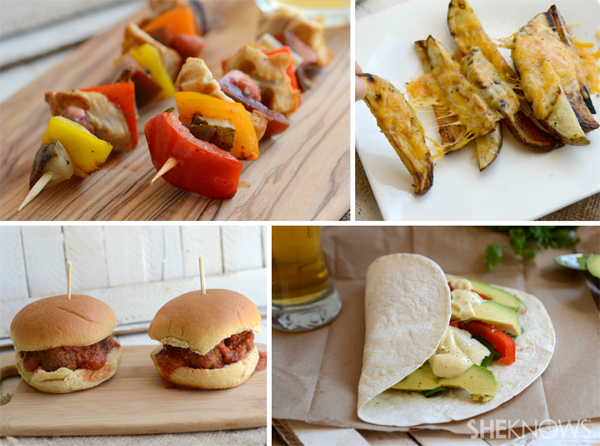 4 6-ingredient or less summer meals