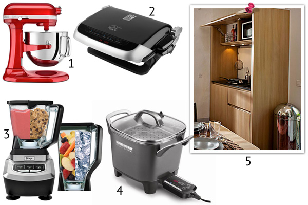 5 cooking gadgets for a small kitchen