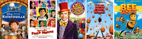 5 Movies to get kids cooking