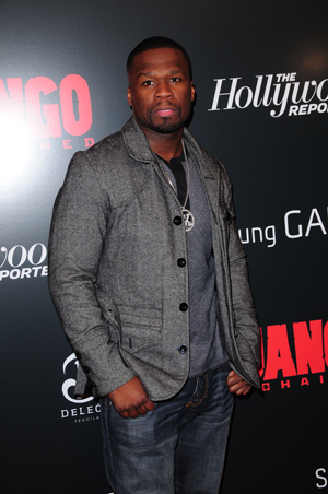 50 Cent at Django Unchained