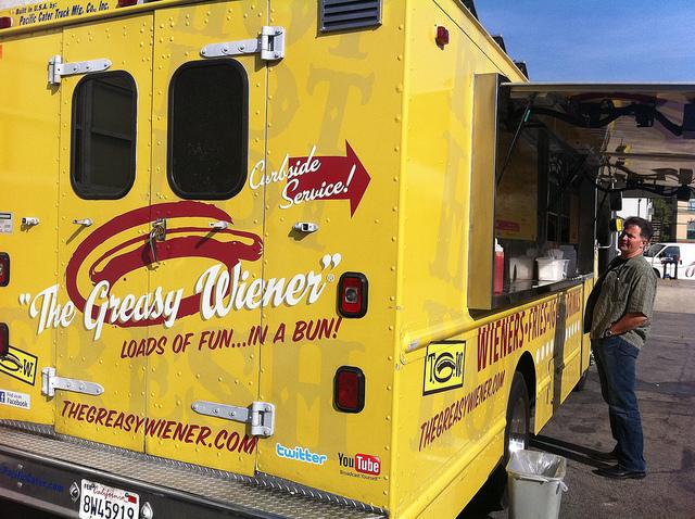greasy wiener food truck