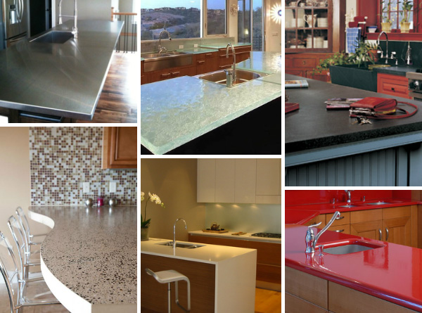 6 Unexpected kitchen countertop trends for 2014