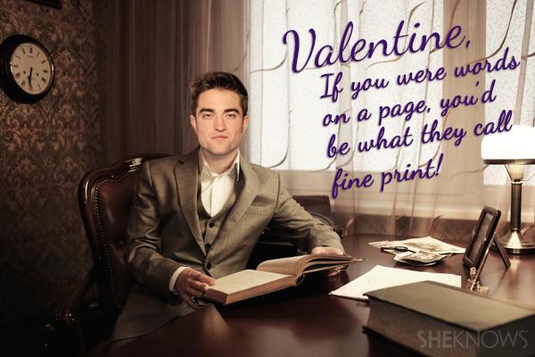Robert Pattinson Valentine's Card