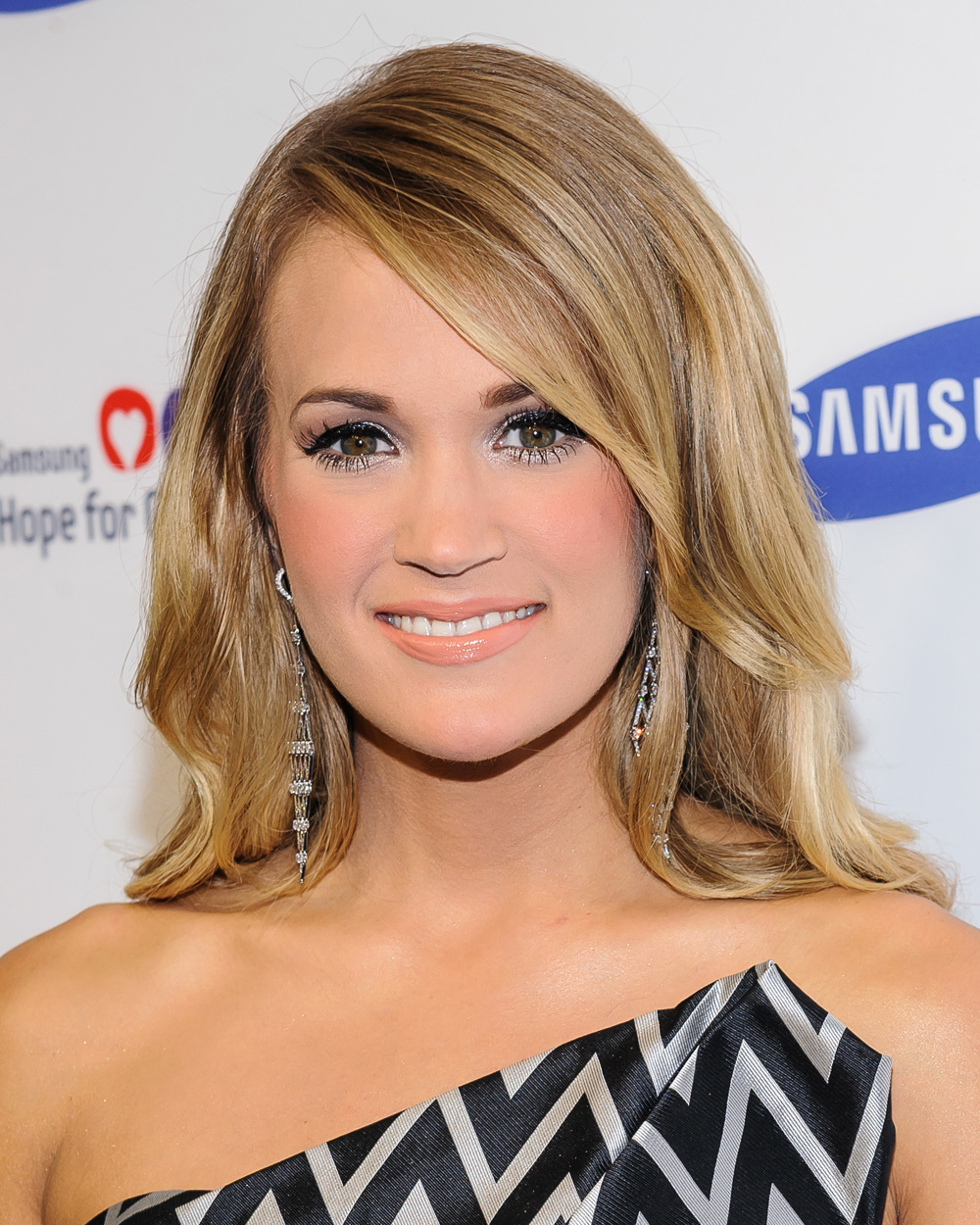 Best lashes: Carrie Underwood