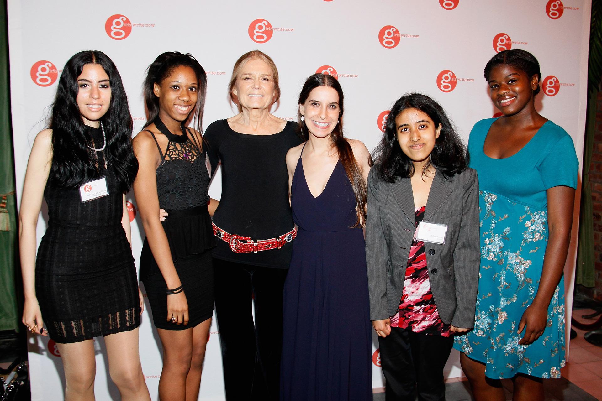 Girls Write Now gala honoring Gloria Steinem