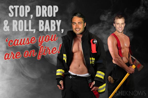 Chicago Fire Valentine's Card