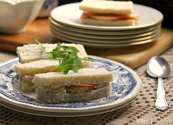 Easy tea sandwiches for a party