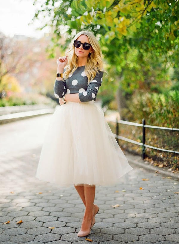 White princess skirt